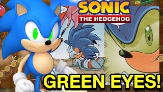 HOW CLASSIC SONIC GOT HIS GREEN EYES!! - Sonic the Hedgehog Comics - NewSuperChris