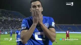 هدف الهلال الثاني ضد الوحدة (كارلوس إدواردو) في الجولة 12 من دوري جميل