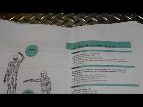 Michael Gundill présente son livre d'anatomie qui vient de sortir