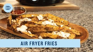 "Greek Style French Fries with the ""Magic Chef Air Fryer"""