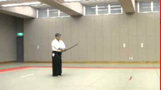 Koji YOSHIDA Nishio-ryu Iaido (Toho Iai no8)
