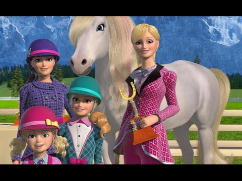 New Barbie Girl Movie   Barbie & Her Sisters in A Pony Tale   Barbie Movies English