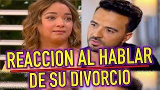 Esta fue la reacción de Adamari López cuando Luis Fonsi habló de su divorcio