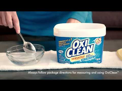 How To Clean Carpet Stains With Oxiclean Versatile Stain