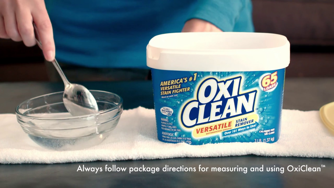 Clean Wine Stains With Oxiclean Versatile Stain Remover