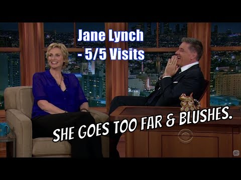 Jane Lynch  Goes Too Far!  55 Visits In Chron. Order
