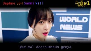 Download Video EXID ( 이엑스아이디 ) - 아예 ( Ah Yeah ) [ 3PLUS1 Cover W/ Color Coded Lyrics and Mp3 Download ] MP3 3GP MP4