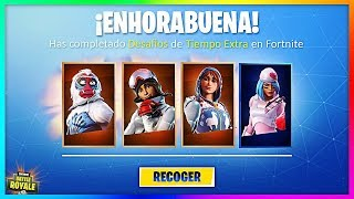 HOW TO GET *FREE* SKINS FROM SAN VALENTÍN in Fortnite! (Extra Time ChallengeS Rewards)