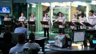 "HBO The Newsroom EP9 ""Mock Debate"""