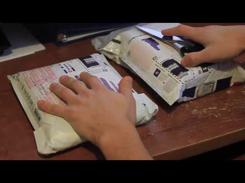 Relief ASMR - Unboxing Pure Green Express & Herbal Dispatch Soft ...