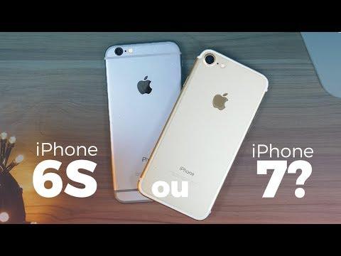 iPhone 6S vs. Iphone 7   Qual vale mais a pena em 2017/2018 ??