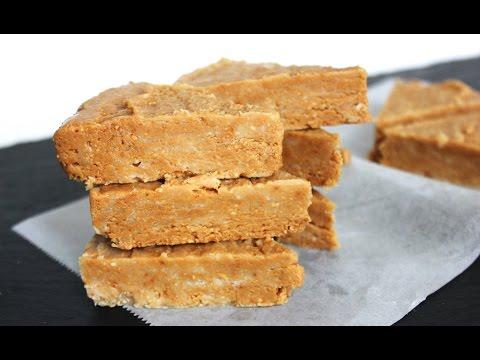 Quick Peanut Butter Fudge (gluten-free, vegan, low-sugar, dairy-free)