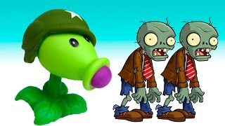 Plants vs Zombies Toys PlayCLayTV Aliexpress toy review for Kids