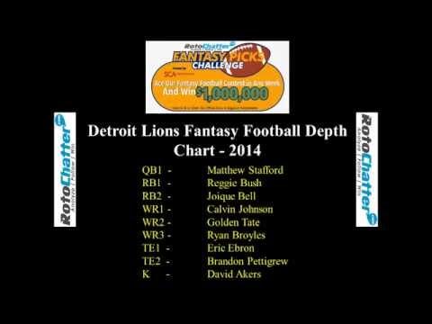 Detroit Lions Depth Chart 2017 Fantasy Football