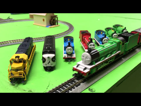 Henry and the Long Freight Train – Thomas And Friends N Scale