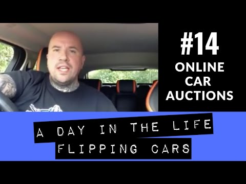 Online Car Auction Buying - Day In The Life Flipping Cars #14
