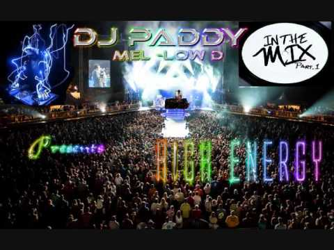 in da mix HIGH ENERGy 21-10-2012 mixed by DJ Paddy Mel-Low D