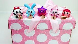 Малышарики сюрпризы. Игрушки малышарики в коробочках с сюрпризом. Видео для детей с малышариками