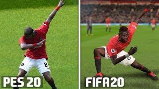 FIFA 20 vs PES 2020: Celebrations Comparison