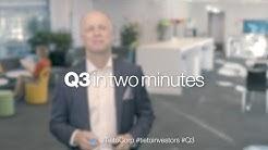 Tieto's Q3 in two minutes