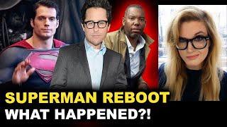 Superman Reboot - JJ Abrams & Ta-Nehisi Coates - Henry Cavill Out