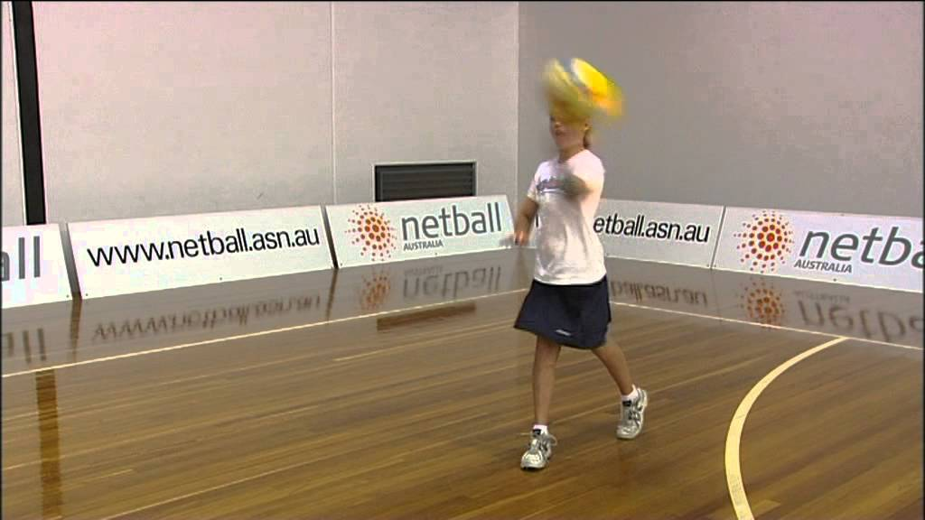 Netball Australia - Catching the Ball, The Shoulder, Chest ...