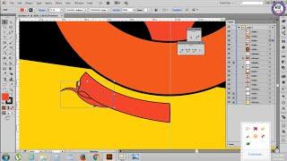 49. Adobe Illustrator Tutorials: Draw Brunei Part 1 - Khmer Computer Knowledge