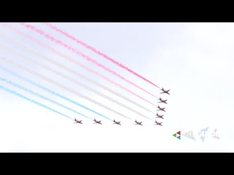Armed Forces Day: Red Arrows fly over Liverpool waterfront | The Guide Liverpool