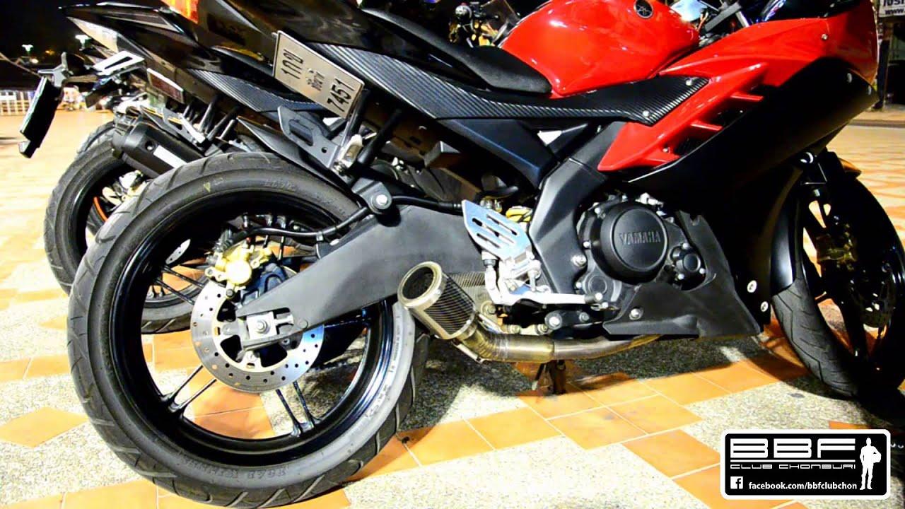 Yamaha Exhaust For Yamaha Yzf R15 Modify By Dave Youtube