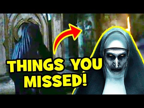 THE NUN 7 Things You Missed & Secrets