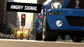 Action Comedy VFX Short Film ** ANGRY SIGNAL ** CGI by ISART DIGITAL Team