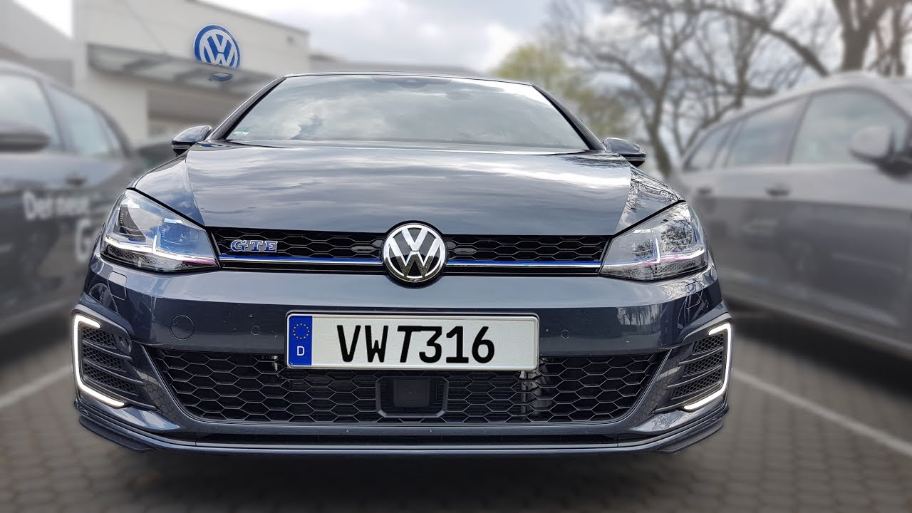 Vw Golf Vii Gte Facelift Hybrid What Is The Gte Button