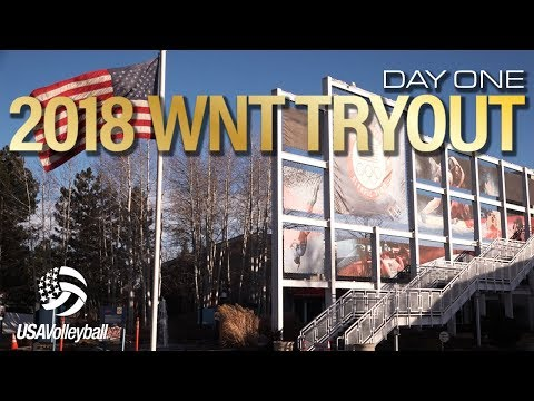 2018 Women's National Team Tryout | Day One