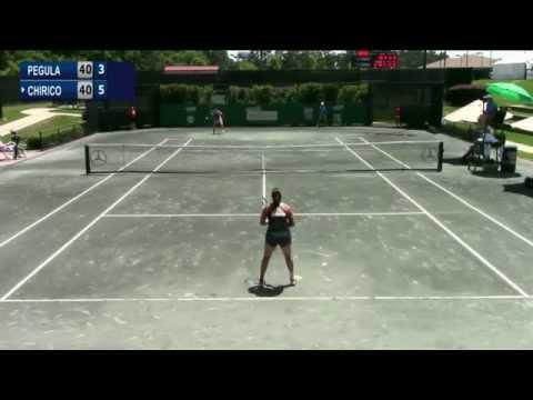 ITF 50k Dothan 2015 / QF / Chirico v Pegula