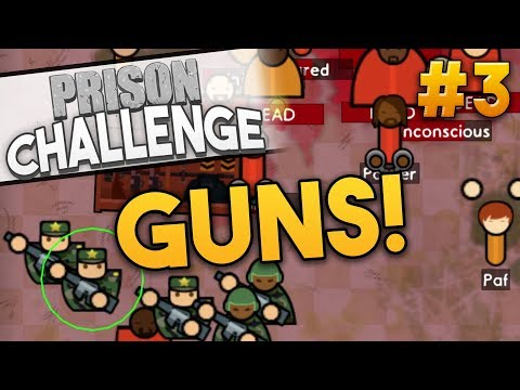 Prison Architect ARMORY CHALLENGE ★ THE MILITARY (#3) - Prison Architect User Challenge