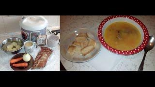 Гороховый суп в мультиварке, как в детстве.
