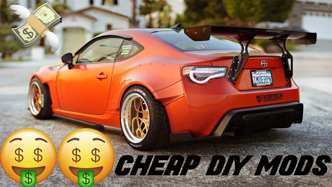 Top 10 Cheap VISUAL DIY Budget Car Mods!! | 2018