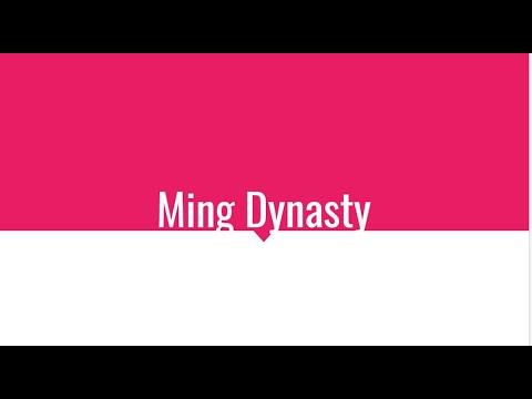 Ming Dynasty-AP World Period Four