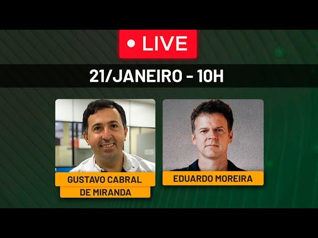 Mundo dá recado claro a Bolsonaro: Chega!!! - Live com Gustavo Cabral de Miranda - 21/01