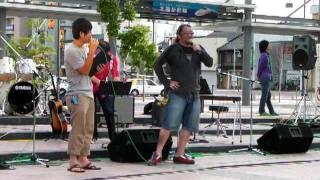 2011.08.06 サマージャム2011第3日目 JR小松駅市民広場 サタデーナイト ...