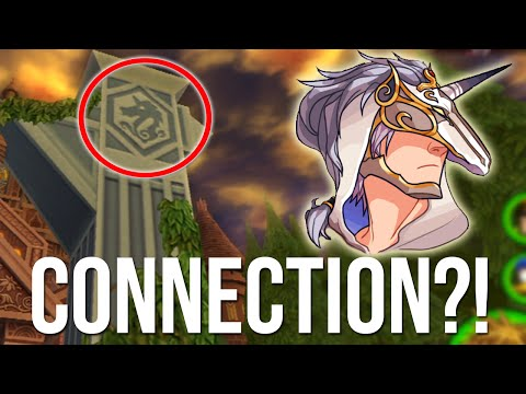 Kingdom Hearts - Unicornis Foreteller Connected to The Twilight Town Mansion?