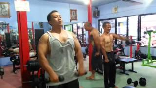Video One and Half Legged Man + Team Indonesian fitness role model download MP3, 3GP, MP4, WEBM, AVI, FLV Mei 2018