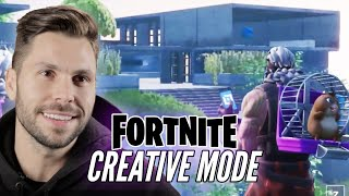 Real Architect Builds A Mansion In Fortnite Creative Mode • Professionals Play