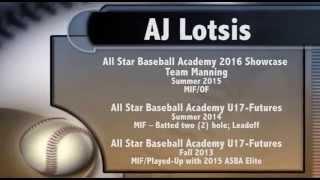 AJ Lotsis 2016 - Hitting Live - (7) At Bats V.1.0