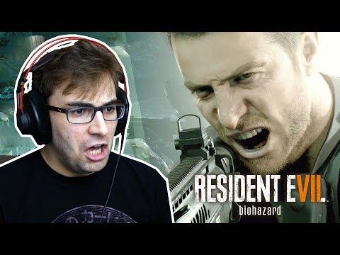 RESIDENT EVIL 7 NOT A HERO - Gameplay do Início da DLC com o Chris Redfield!