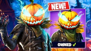 "* NUEVO * Halloween ""Hollowhead"" Piel de calabaza! (Fortnite LIVE Gameplay)"