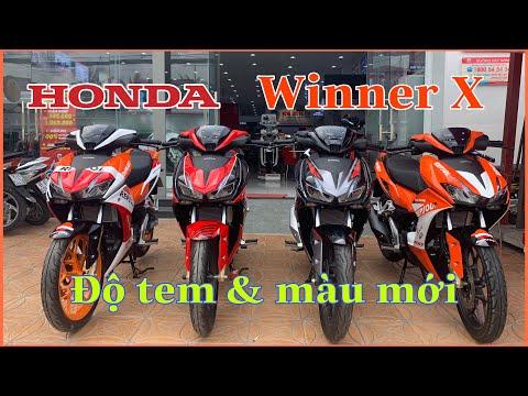Báo Giá Honda Winner X độ Tem Sport đỏ đen Cực đẹp | MKT