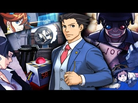 Phoenix Wright: Ace Attorney - Dual Destinies - Episode 1: Turnabout Countdown Playthrough [3DS]