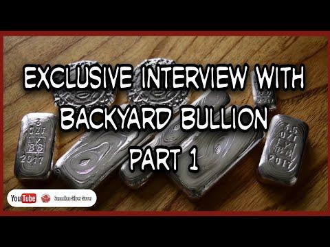 Exclusive interview with Backyard Bullion  - Part 1. United Kingdoms premium poured silver craftsman
