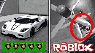MOST EXPENSIVE ROBLOX CAR SCRAPPING! (ROBLOX CAR CRUSHER)